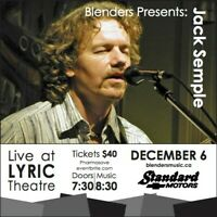 Blenders Presents Jack Semple