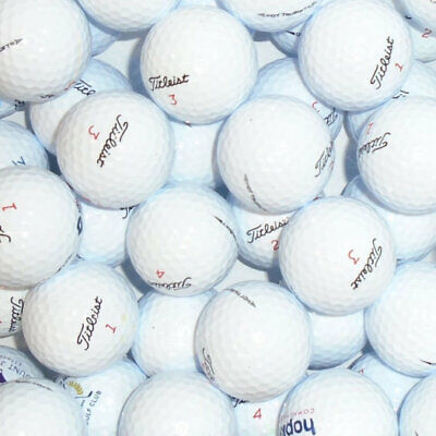 40 TITLEIST DT TRUSOFT GOLF BALLS  PEARL/ GRADE A LAKE BALLS FREE DELIVERY AUC