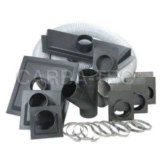 Carbatec 100mm Dust Duct Extraction Fittings Kit DCK-3 (was $119) Balcatta Stirling Area Preview