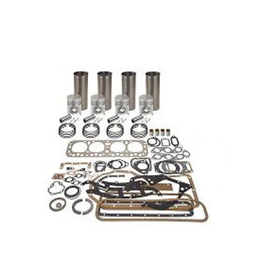 Ford Tractor 2n 8n 9n Basic Engine Overhaul Kit Pistons Sleeves 4 Rings Gaskets