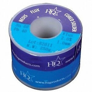 Large-Reel-Cored-Flux-Solder-250g-1mm-Genuine-60-40-Tin-Lead-Resin