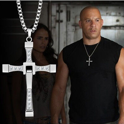 Cross Pendant Necklace for Man Christian Presents Gifts gold silver him Jewelry