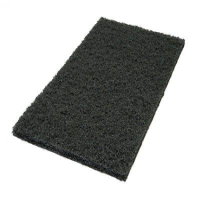 Black Floor Pads - Squar Buff 600b - Silverline Sl1218 Orbital Sander Pads -5 Pk