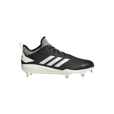 Adidas Adizero Afterburner V Adult Men's Black Metal Baseball (Black Metal Baseball Cleats)