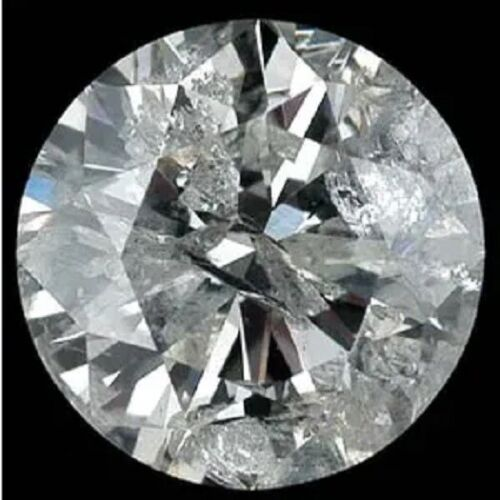 individual melee loose round cut diamond I1 I2 G H approx 2.8mm .08ct each