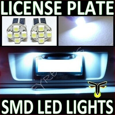 WHITE LED LICENSE PLATE TAG LIGHT BULBS -