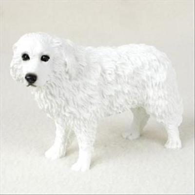 Great Pyrenees Dog Hand Painted Canine Collectable Figurine Statue