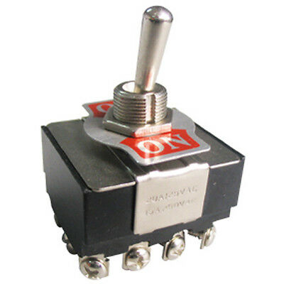 Toggle Switch 4pdt Onon 10 Amp 125 Vac K402