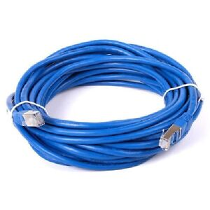 50 ft. Blue Cat7 600MHz Screened Shielded Twisted Pair (S/STP) N