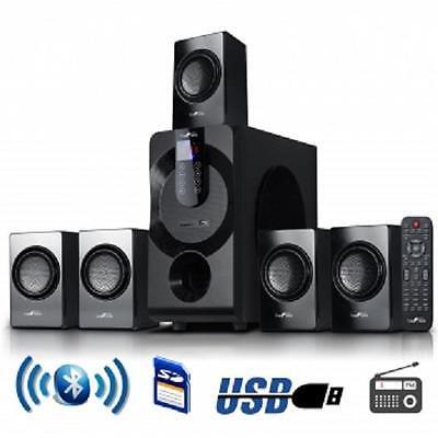 beFree*5.1 CHANNEL Surround Sound*BLUETOOTH*Home Theater SPEAKER SYSTEM*Black