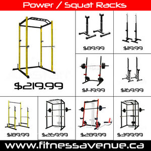 Power Rack Squat Rack Home Gym - Brand New