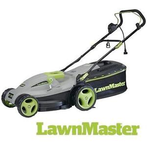 """NEW* LAWNMASTER 18"""" LAWN MOWER ELECTRIC LAWNMOWER 36V  CORDED 106901584"""