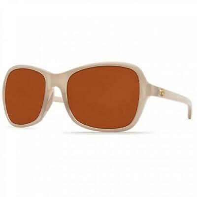 295569c32a51e New Costa del Mar KARE Polarized Sunglasses Sand Crystal Copper 580P Women
