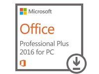 Microsoft Office Pro Plus 2016 (1 PC) Full Retail Version - Instant Email Delivery