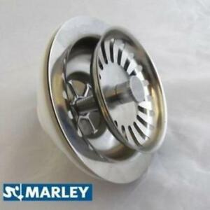 90mm-Stainless-Steel-Basket-Strainer-Waste-Kitchen-Sink-40mm-1-5-outlet-Marley