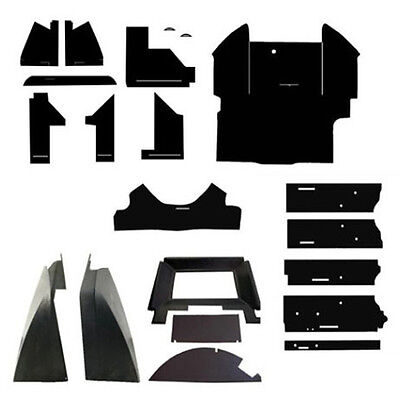 John Deere New Complete Black Cab Foam Kit Headliner 4030 4230 4430 4630