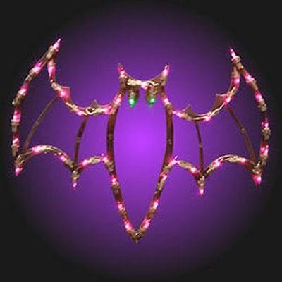 ON SALE Halloween Lighted Bat ... Window/Wall/Door/Yard Decor (New in Box) - Halloween Decoration Sale