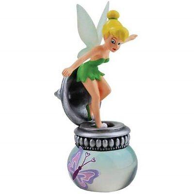Walt Disney Peter Pan's Tinker Bell Butterfly Ink Well Resin Figurine NEW UNUSED