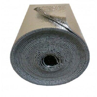 "Reflective Foam Insulation Heat Shield Thermal Insulation Shield 48""x4ft"