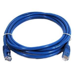 35 ft. Blue High Quality Cat6 550MHz UTP RJ45 Ethernet Bare Copp