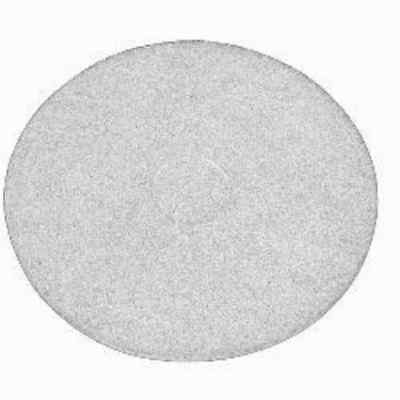 White Floor Pads - 17 Floor Buffer Polisher - Polish Pads - 1 Thick - 5 Pack