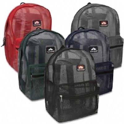 Mesh  See Through  Trailmaker Backpack
