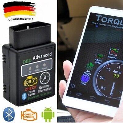 Gebraucht, ELM327 OBD2 OBD II BLUETOOTH Car Auto Diagnostic Scanner Tools Mazda Honda VW DE gebraucht kaufen  Deutschland