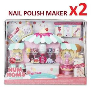 NEW 2 NUM NOMS NAIL POLISH MAKER 547013 236944550 TOYS SPECIAL EDITION BEST IF USED BY NOVEMBER 2019