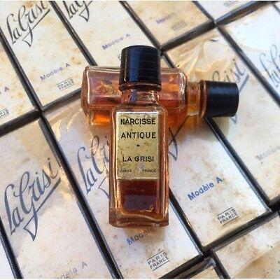 Échantillon Narcisse Antique La Grisi 1930 Parfum Ancien Parfumerie 1940 segunda mano  Embacar hacia Spain