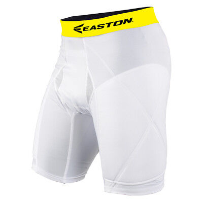 Easton Adult Men's Extra Protective Padded Baseball Sliding Short - (Extra Protective Sliding Short)