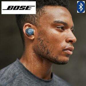 RFB* BOSE WIRELESS HEADPHONES 774373-0020 250428409 SOUNDSPORT FREE TRULY WIRELESS BLUE CITRON REFURBISHED