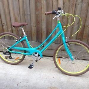 Ladies Step through cruiser bicycle