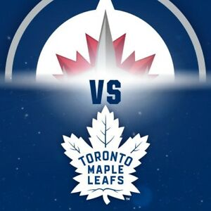 WANTED TWO TICKETS FOR LEAFS VS JETS GAME