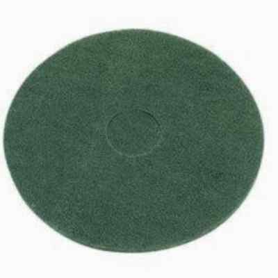 Green Floor Pads - 17 Floor Buffer Polisher -scrubbing Pads-1 Thick - 5 Pack