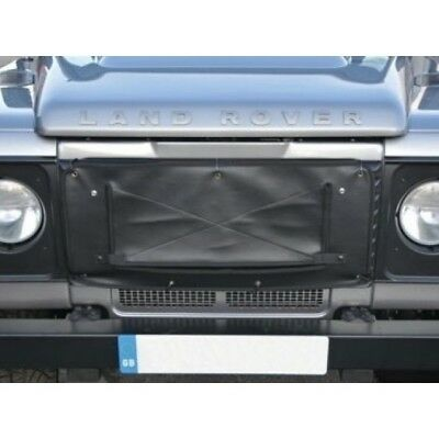Land Rover Defender Radiator Muff Grill Cover   DA2161BLACK