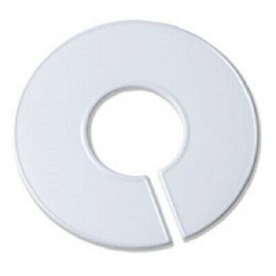 White Round Plastic Blank Rack Size Dividers - Multi-pack