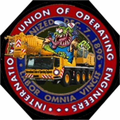 Hard Hat Stickers Union Operator Stickers Co-1