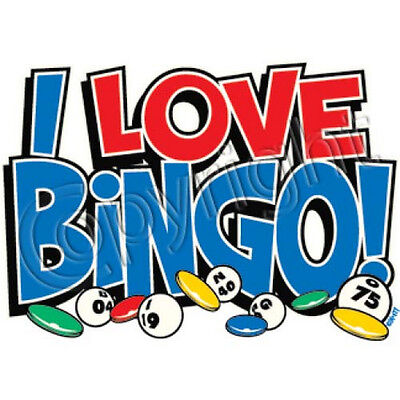 I Love Bingo T Shirt You Choose Style, Size, Color 10658 - I Love Bingo