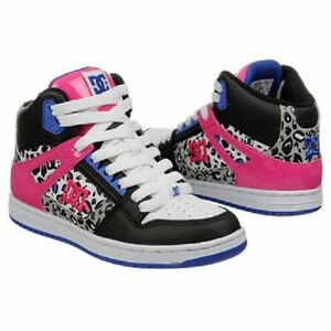 DC-Shoes-Rebound-High-womens-skate-shoes-11-Med-NEW