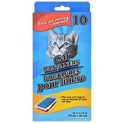 - Cat Pan/Litter Box Liner Bags, Two 10-ct. Boxes 20 total  US Seller