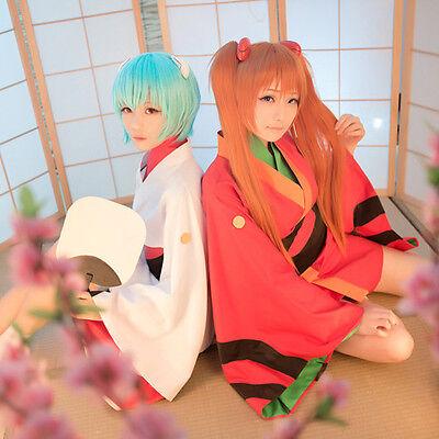 EVA Neon Genesis Evangelion Kimono Yukata Kostüm Cosplay Costume Anime Manga - Genesis Cosplay Kostüm