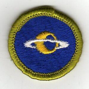 Astronomy Merit Badge Type G Cloth Back 1961 71 Mint   eBay