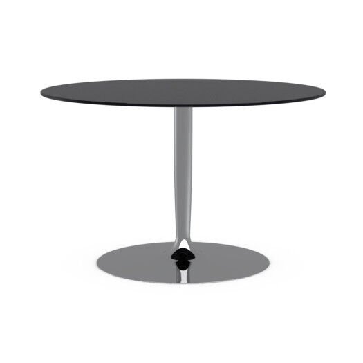 calligaris planet glass dining table with 5 chairs