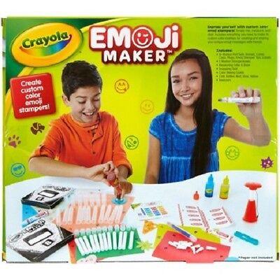 Crayola Stamp Markers (CRAYOLA EMOJI MAKER SET STAMP MARKERS CHILDREN CRAFT KIT)