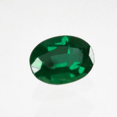 Certified 1.06 ct Zambia Natural Emerald Oval Loose ~7 x 6 mm Gemstone 112_VIDEO