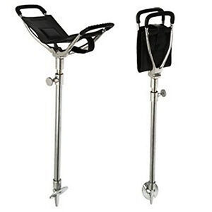 GOLF-SPECTATOR-SEAT-STICK-OUTDOOR-ADJUSTABLE-FOLDING-WALKING-CANE-AND-CHAIR-NEW