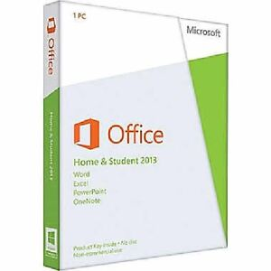 Microsoft Office Home and Student 2013 Product Key (Medialess) -