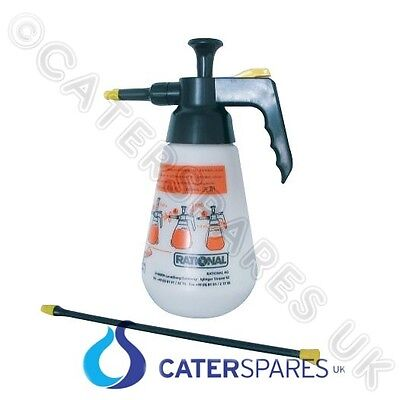 Rational Combi Steam Oven Hand Pressure Cleaning Spray Liquid Bottle 6004.0100