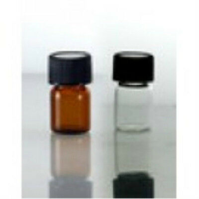 Glass Vials 12 Dram -or- 58 Dram W Screw Cap Wholesale 25ct