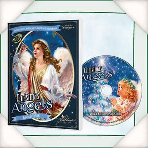 Christmas Angels - Papercraft - CD-ROM  - Katy Sue - Flowersoft